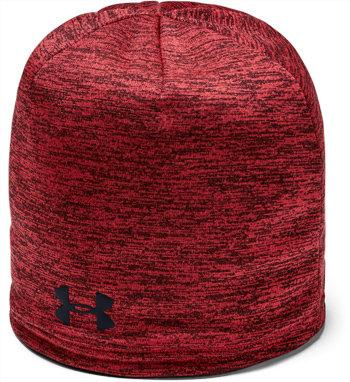 Červená zimní čepice Under Armour