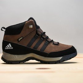 Černo-hnědé dětské dívčí nebo chlapecké trekové boty - obuv WINTER HIKER bd6696edf1a