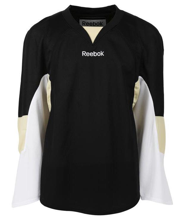 Bílo-černý hokejový dres Edge Boston Bruins, Reebok