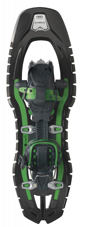 Černo-zelená sněžnice TSL - délka 69 cm
