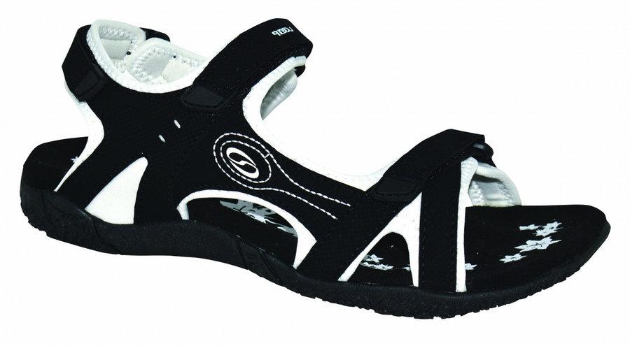 Bílo-černé dámské sandály Loap - velikost 36 EU