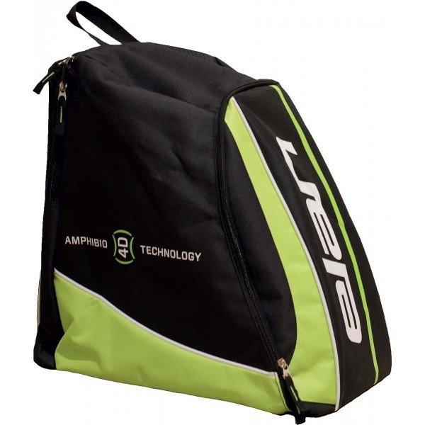 Černo-zelená taška na lyžařské boty pro 1 pár Elan