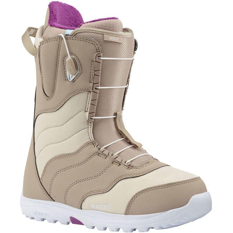 Béžové dámské boty na snowboard Burton - velikost 41,5 EU