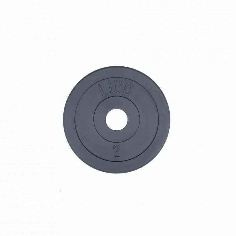 Kotouč na činky Ligo - 2 kg
