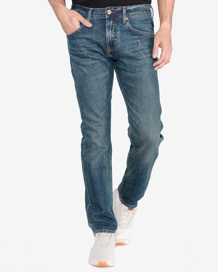 Modré pánské džíny Tommy Hilfiger