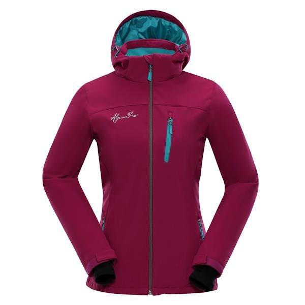 Červená dámská bunda Alpine Pro - velikost XS