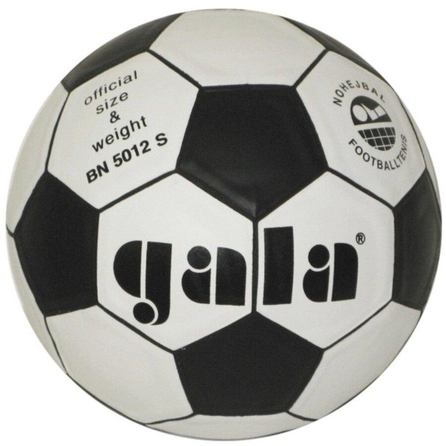 Bílo-černý nohejbalový míč Gala - velikost 5
