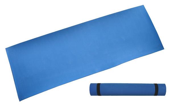 Modrá podložka na cvičení Acra - tloušťka 0,4 cm