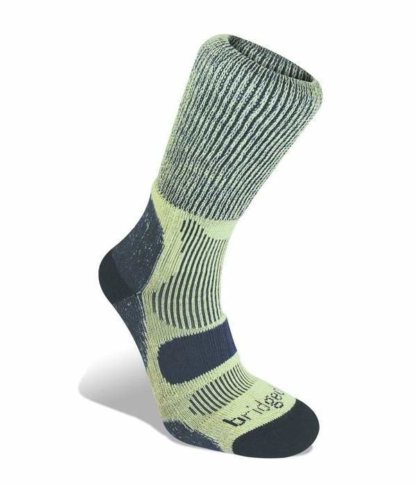 Zelené pánské lyžařské ponožky Bridgedale - velikost 48-51 EU