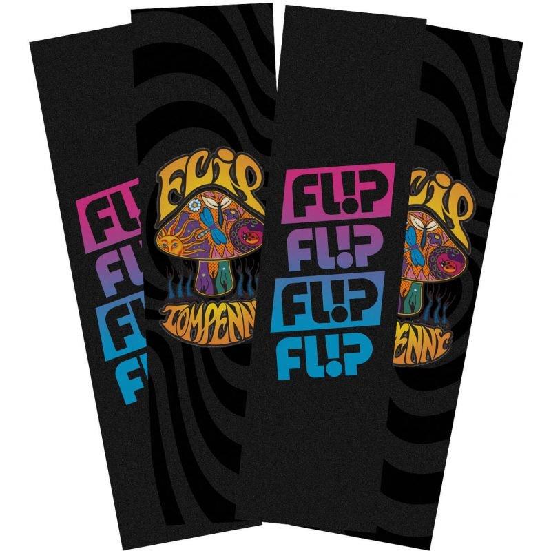Černé gripy na snowboard Flip