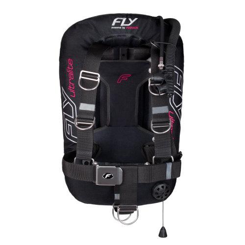 Křídlo - Křídlo FLY Ultralite + hliníkový backplate + zátěžové kapsy, růžová