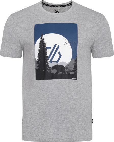 Šedé pánské tričko s krátkým rukávem Dare 2b - velikost S