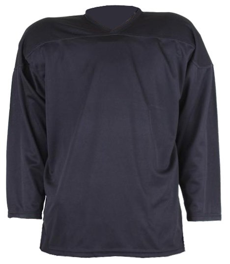 Černý unisex hokejový dres HD-2, Merco