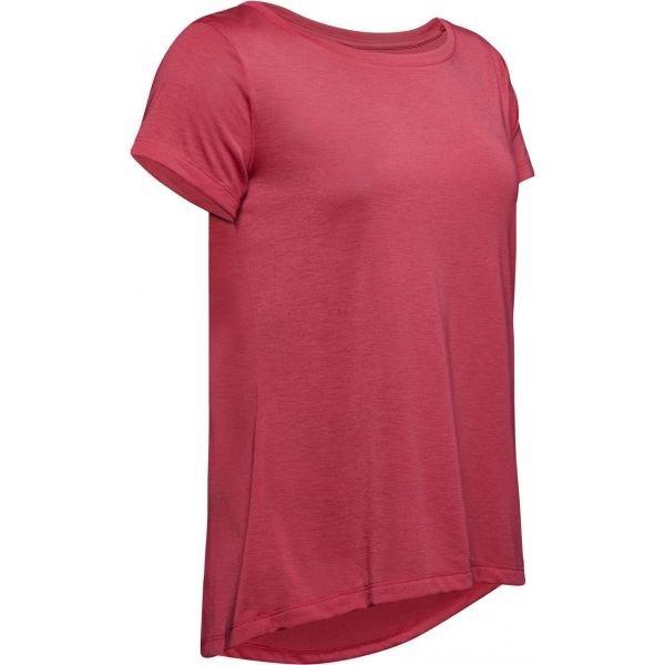 Červené dámské tričko s krátkým rukávem Under Armour - velikost XS