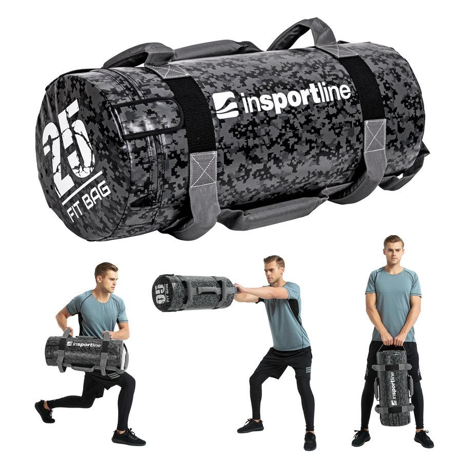 Posilovací vak Fitbag Camu, Insportline - 25 kg