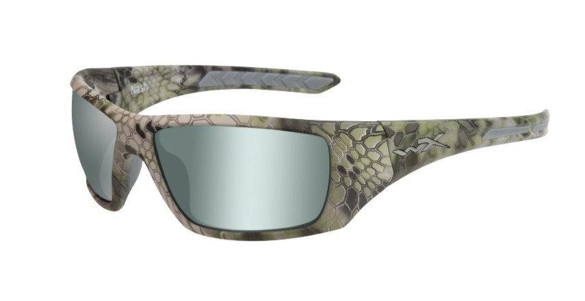 Polarizační brýle - Brýle Wiley X Nash Polarized Platinum Flash Barva obrouček: hnědá