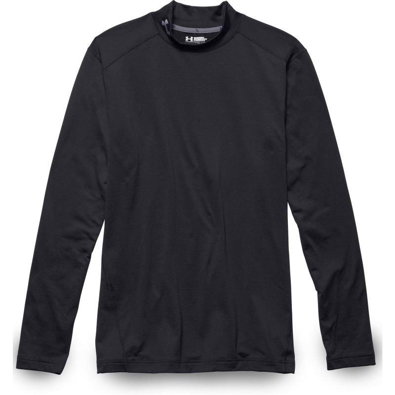 Termo tričko - TRIKO UNDER ARMOUR COLDGEAR GOLF MOCK - černá - L
