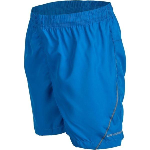 Modré dětské běžecké kraťasy Arcore