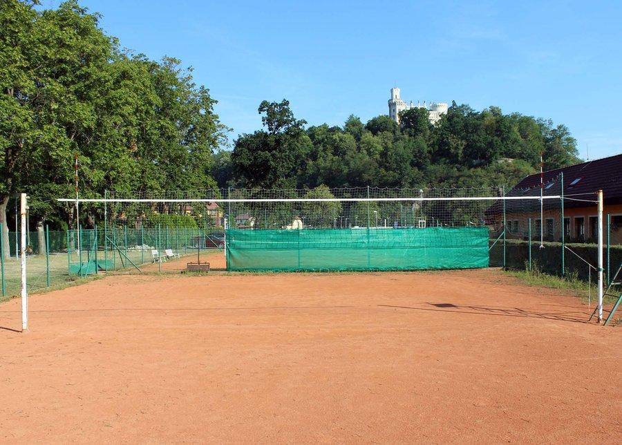 Volejbalová síť se šňůrkou Pokorný sítě
