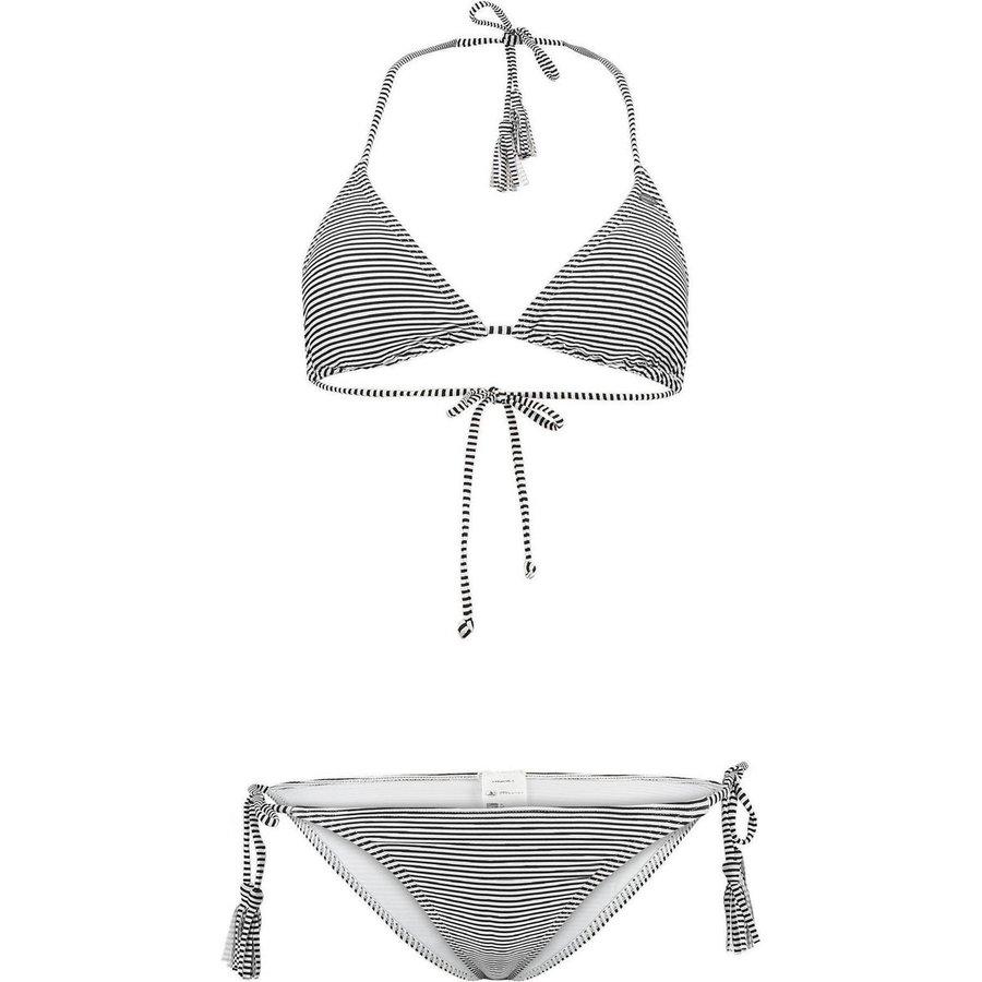 Bílo-černé dámské plavky O'Neill - velikost 32