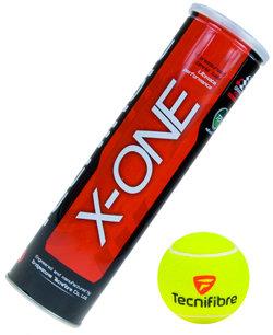 Tenisový míček X-One, Tecnifibre - 4 ks