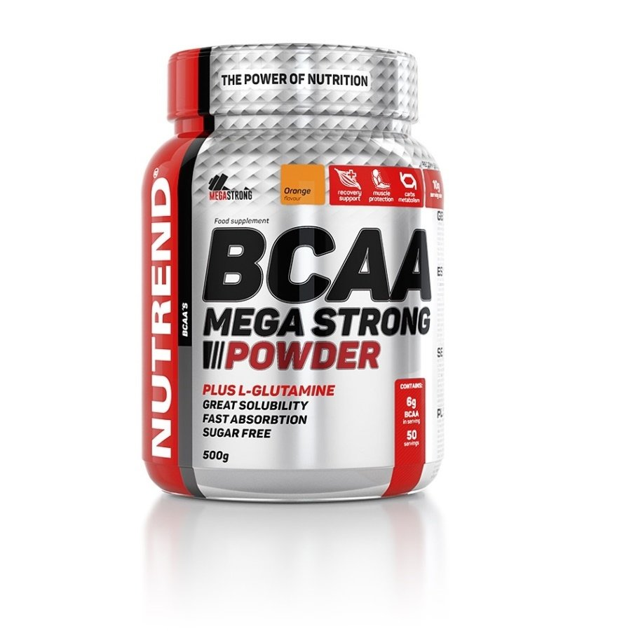 BCAA Mega Strong Powder, Nutrend - 500 g