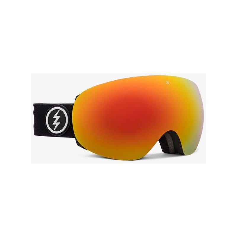 Černé brýle na snowboard Electric