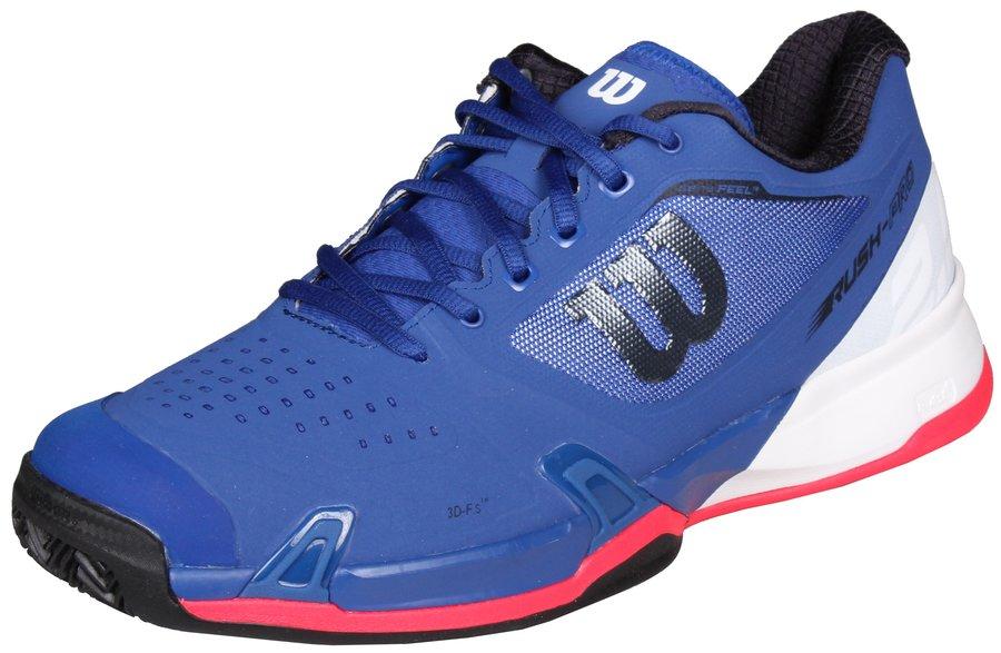 Modrá pánská tenisová obuv Rush Pro 2.5 Clay Court, Wilson - velikost 41 1/3 EU