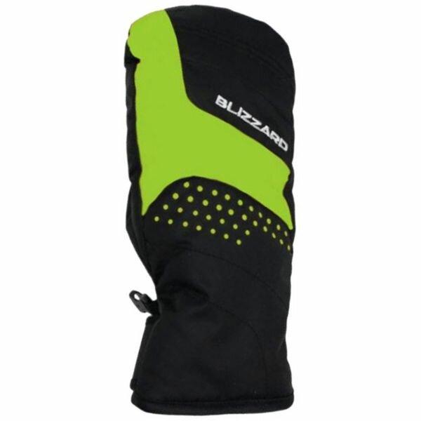 Zelené dětské zimní rukavice Blizzard