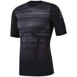 Černé pánské tričko s krátkým rukávem Reebok