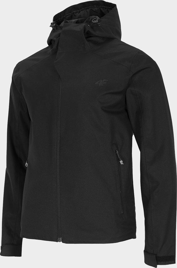 Černá pánská turistická bunda 4F - velikost XXL