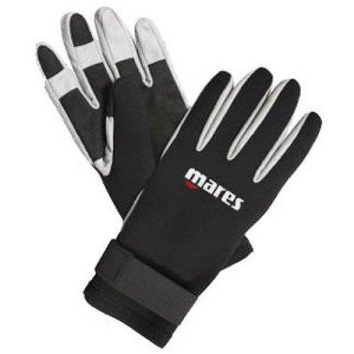 Bílo-černé neoprenové rukavice Amara, Mares - velikost S