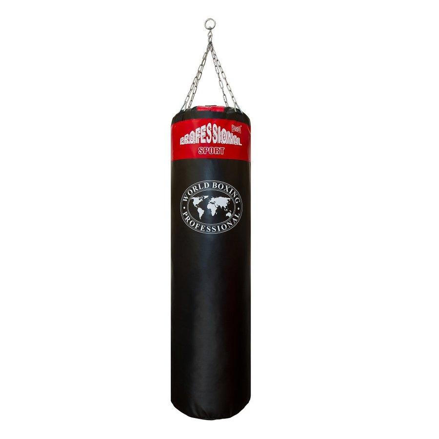 Černo-červený boxovací pytel Shindo