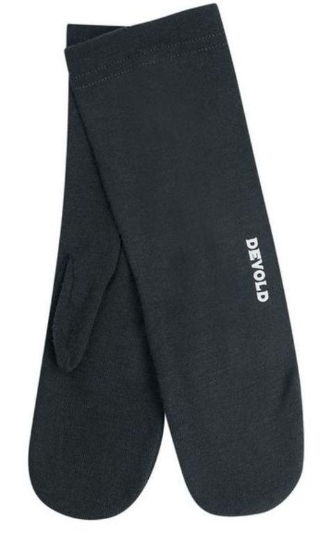 Černé dámské zimní rukavice Devold