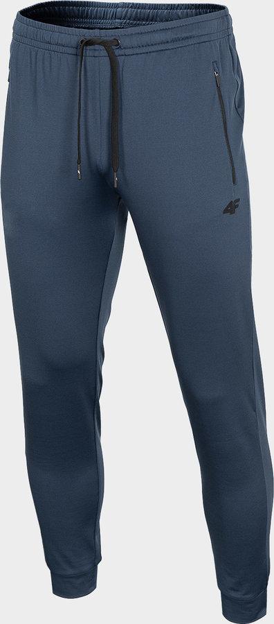 Modré pánské funkční kalhoty 4F - velikost S