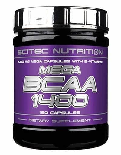 BCAA - Scitec Nutrition Mega BCAA 1400 180 tablet 180cps