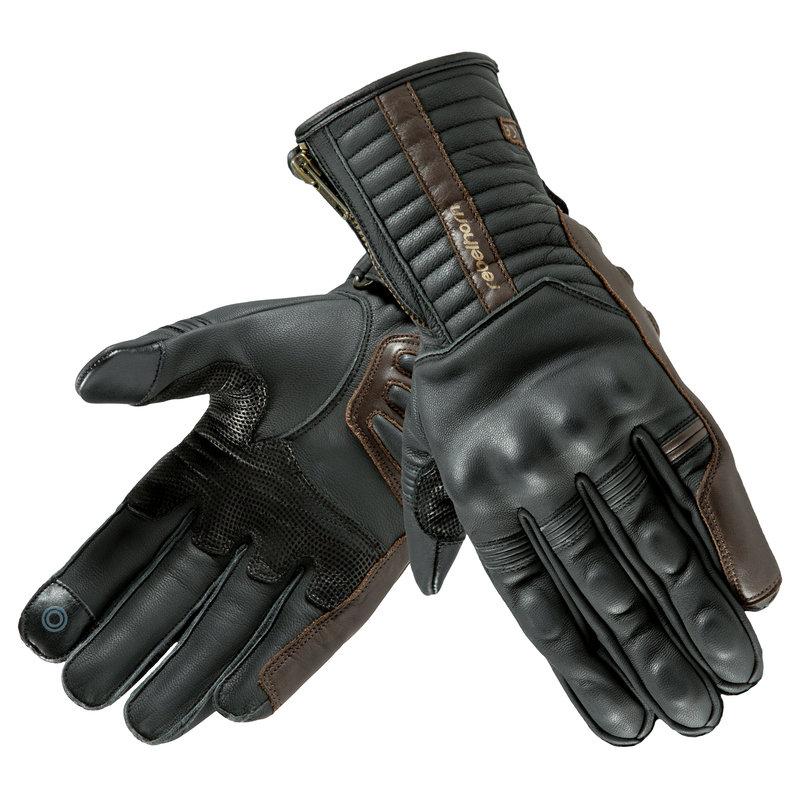 Letní rukavice na motorku Opium II Retro CE, Rebelhorn