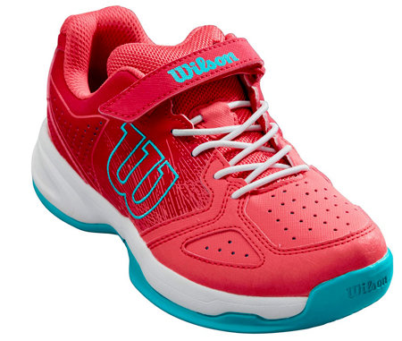 Bílo-černá dětská tenisová obuv Kaos, Wilson
