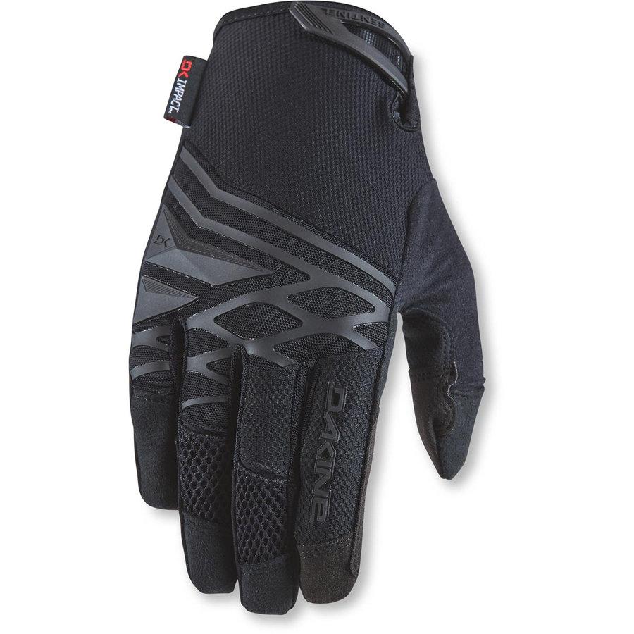 Černé letní pánské cyklistické rukavice Dakine - velikost XXL