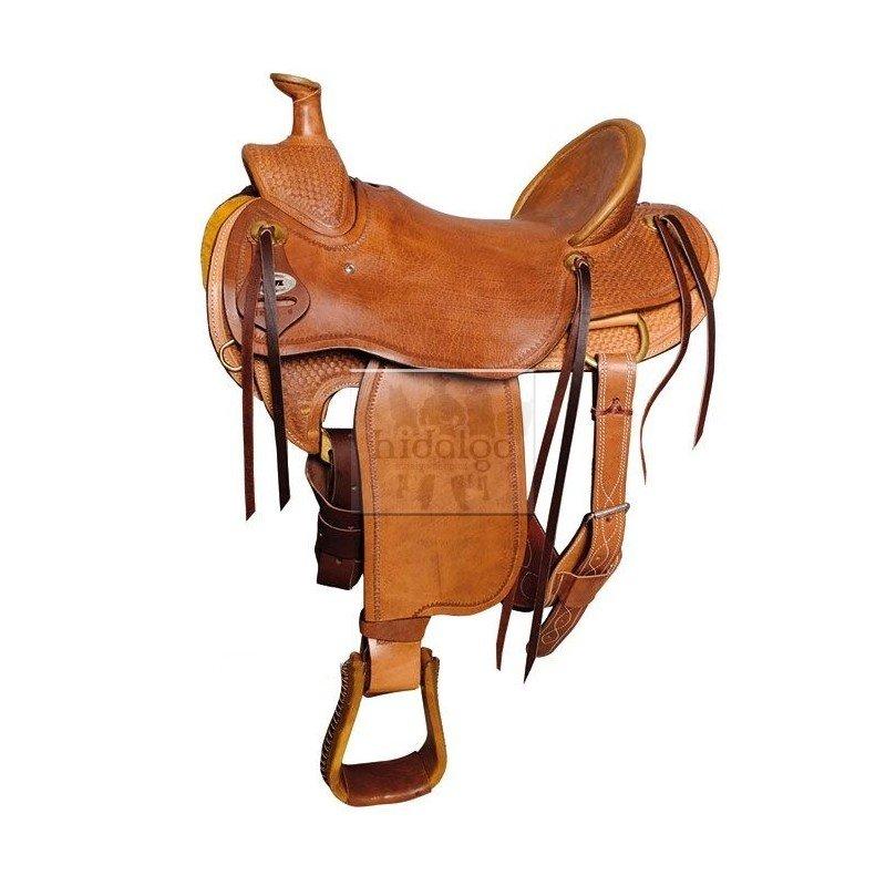 Sedlo na koně - Westernové sedlo Ranchero
