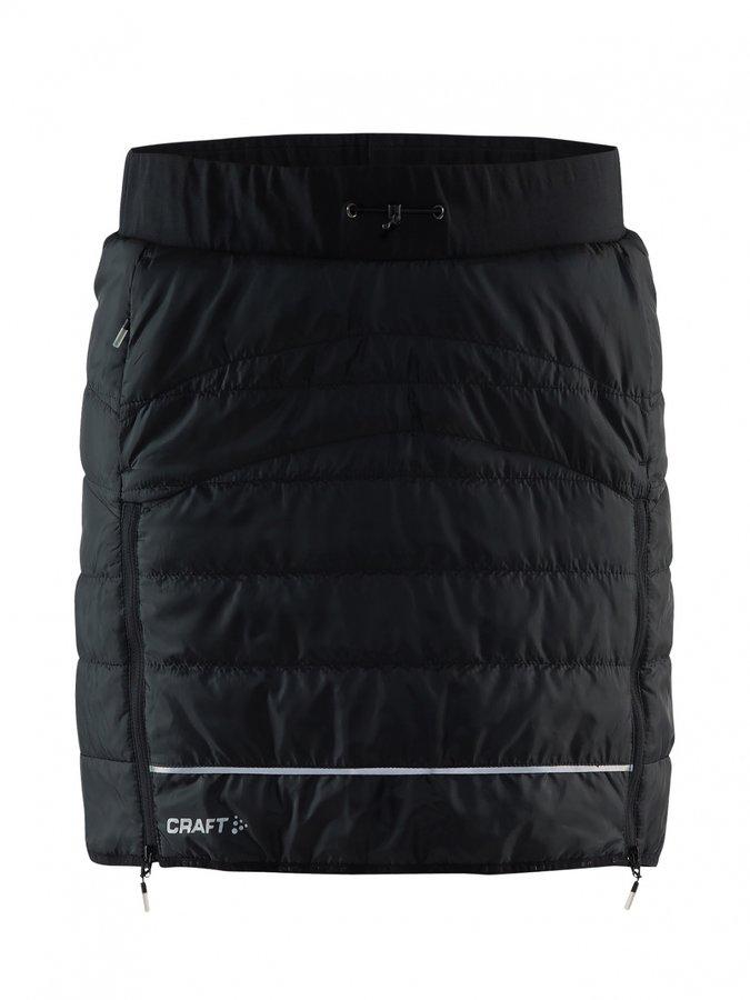 Černá dámská sukně na běžky Craft - velikost L