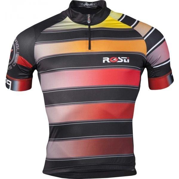 Různobarevný pánský cyklistický dres Rosti - velikost XL