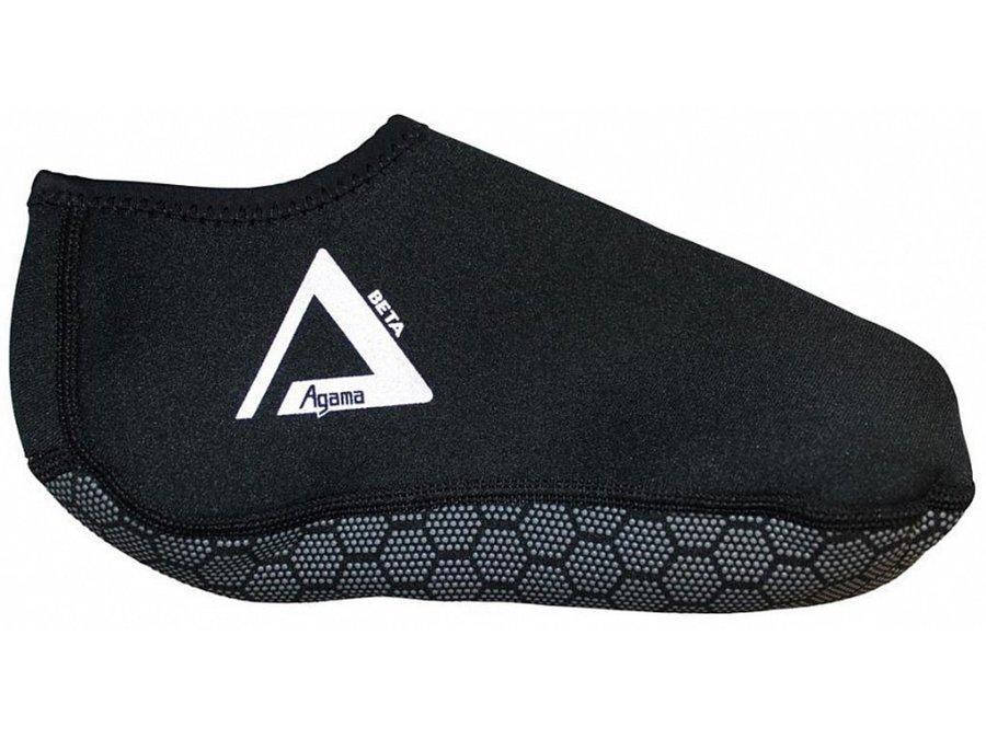 Černé dětské neoprenové ponožky Beta, Agama - velikost 44-45 EU a tloušťka 1,5 mm