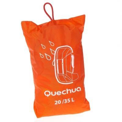 Oranžová pláštěnka na batoh Forclaz - objem 20-30 l