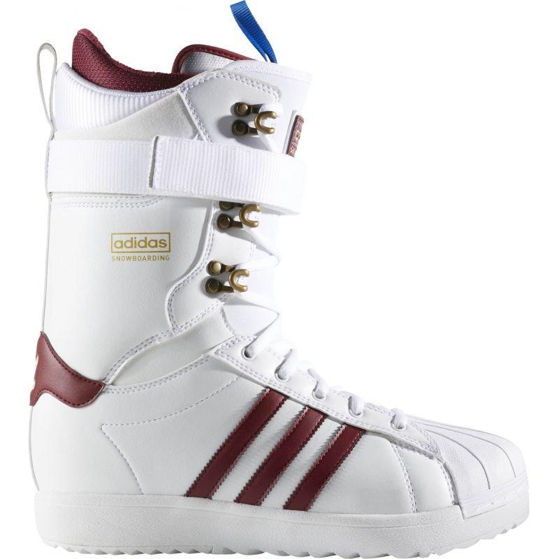 Bílé pánské boty na snowboard Adidas