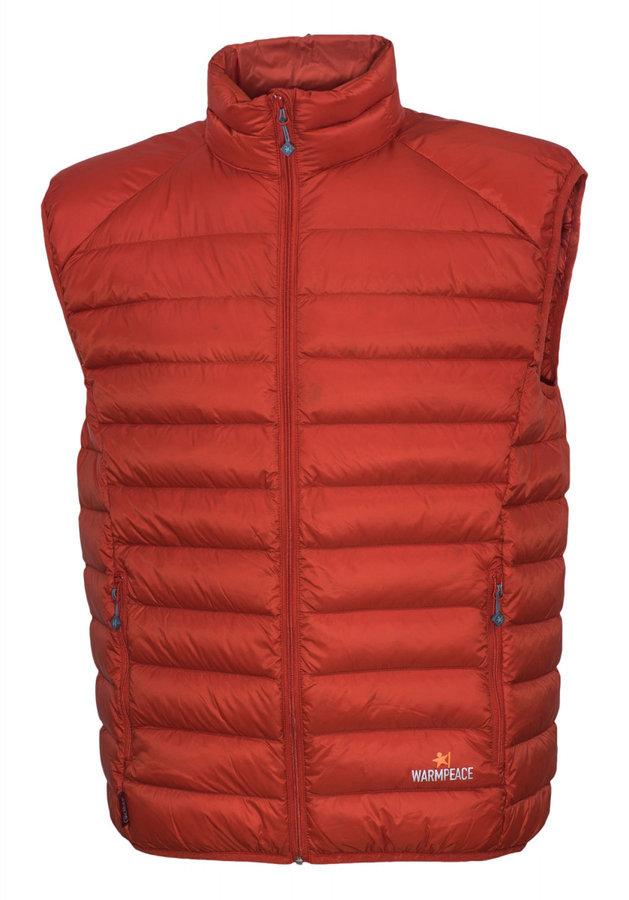 Červená pánská vesta Warmpeace