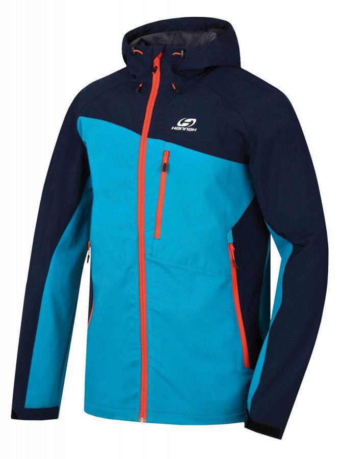 Modrá pánská bunda na běžky Hannah - velikost XXL