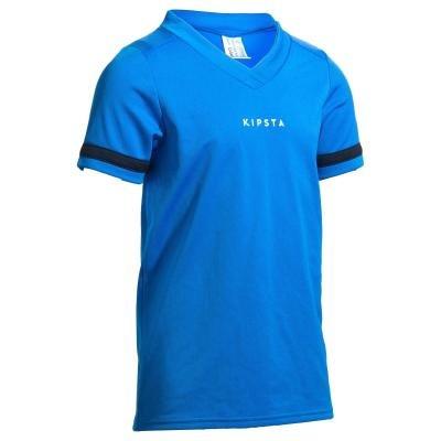 Modrý dětský ragbyový dres R100, Offload