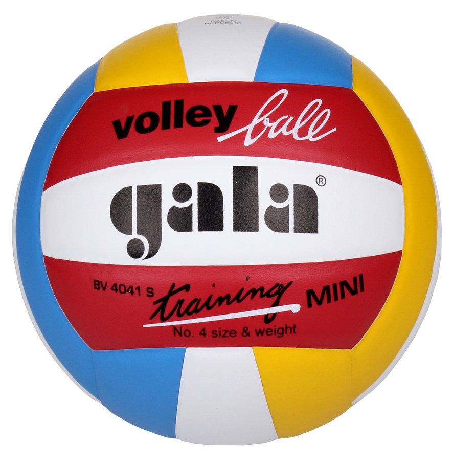 Různobarevný volejbalový míč BV4041S, Gala - velikost 4