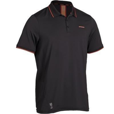 Černé pánské tenisové tričko Artengo